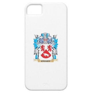 Escudo de armas de Cassidy - escudo de la familia iPhone 5 Case-Mate Cobertura