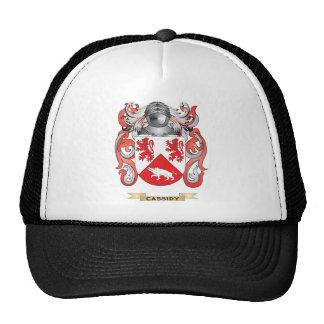 Escudo de armas de Cassidy (escudo de la familia) Gorra