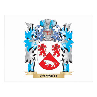 Escudo de armas de Cassidy - escudo de la familia Postal