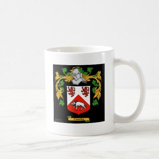 Escudo de armas de Cassidy - escudo de la familia Taza De Café