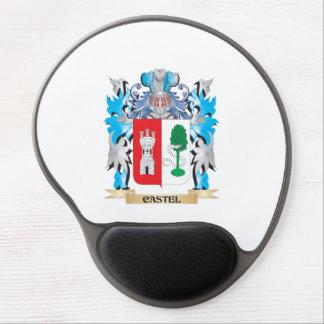 Escudo de armas de Castel - escudo de la familia Alfombrillas Con Gel