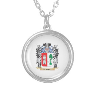 Escudo de armas de Castell - escudo de la familia Colgante Redondo
