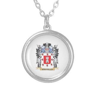 Escudo de armas de Castella - escudo de la familia Colgante Redondo