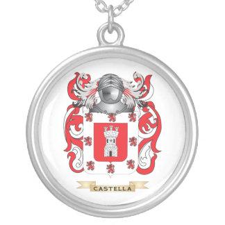 Escudo de armas de Castella (escudo de la familia) Colgante Redondo