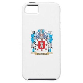 Escudo de armas de Castella - escudo de la familia iPhone 5 Case-Mate Cárcasa