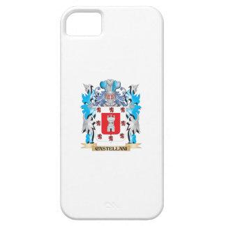 Escudo de armas de Castellani - escudo de la famil iPhone 5 Case-Mate Cárcasa