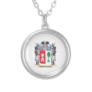 Escudo de armas de Castello - escudo de la familia Colgante Redondo