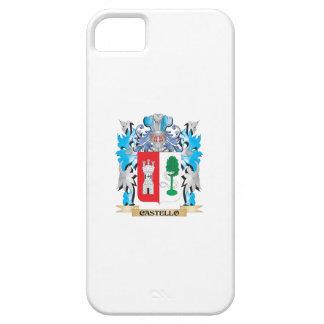 Escudo de armas de Castello - escudo de la familia iPhone 5 Carcasa