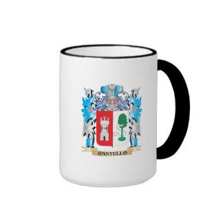 Escudo de armas de Castello - escudo de la familia Taza De Café