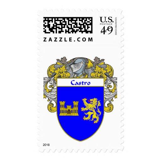 Escudo de armas de Castro (cubierto) Envio