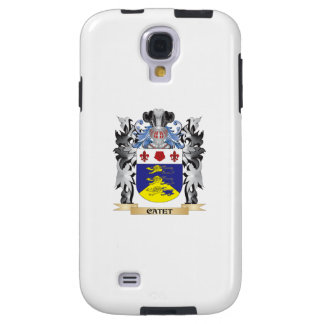 Escudo de armas de Catet - escudo de la familia Funda Para Galaxy S4