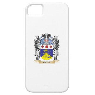 Escudo de armas de Catet - escudo de la familia iPhone 5 Funda