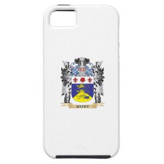 Escudo de armas de Catet - escudo de la familia iPhone 5 Fundas
