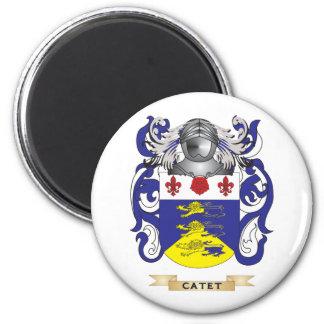 Escudo de armas de Catet Imán Redondo 5 Cm