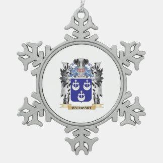 Escudo de armas de Cathcart - escudo de la familia Adorno De Peltre En Forma De Copo De Nieve