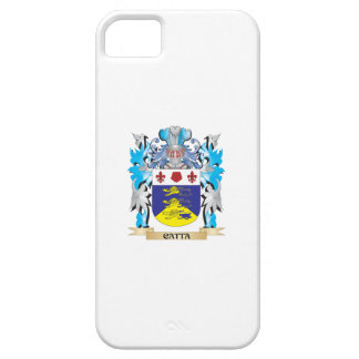 Escudo de armas de Catta - escudo de la familia iPhone 5 Case-Mate Protectores