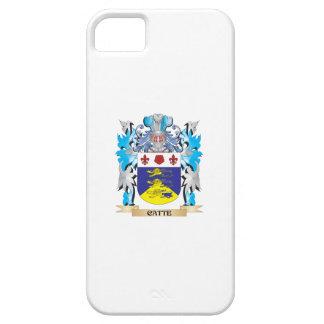 Escudo de armas de Catte - escudo de la familia iPhone 5 Funda