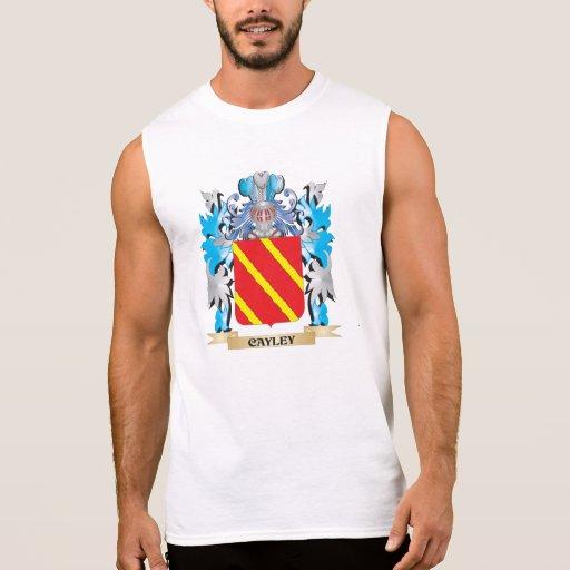 Escudo de armas de Cayley - escudo de la familia Camiseta Sin Mangas