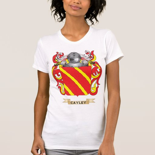 Escudo de armas de Cayley Camisetas