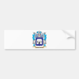 Escudo de armas de Cazenove - escudo de la familia Pegatina Para Auto