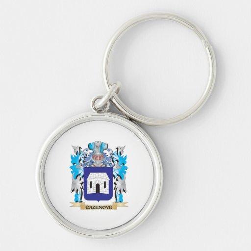 Escudo de armas de Cazenove - escudo de la familia Llavero Personalizado