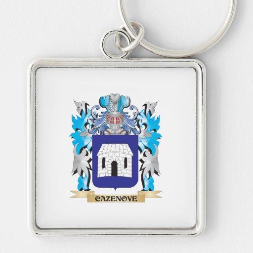 Escudo de armas de Cazenove - escudo de la familia Llaveros Personalizados