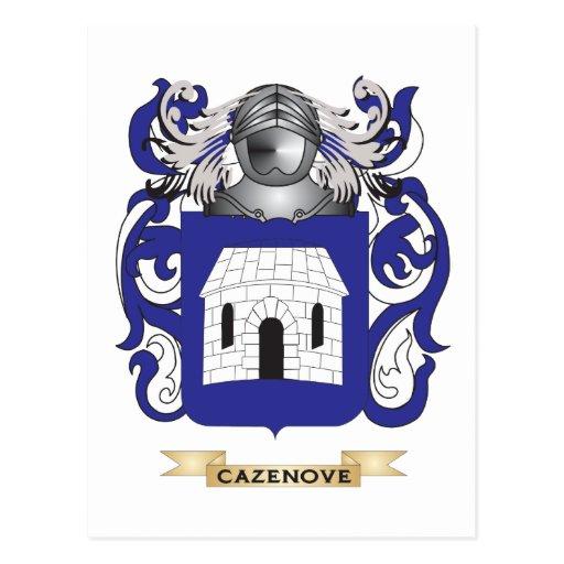 Escudo de armas de Cazenove Postales