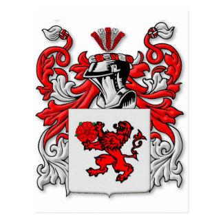Escudo de armas de Ceja Tarjetas Postales