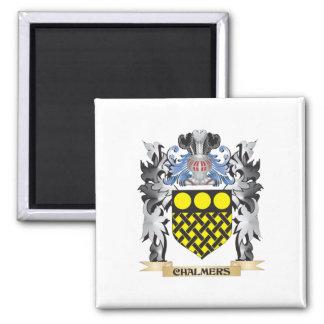 Escudo de armas de Chalmers - escudo de la familia Imán Cuadrado