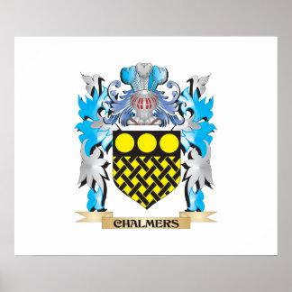 Escudo de armas de Chalmers - escudo de la familia Impresiones