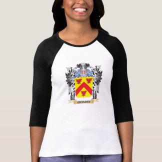 Escudo de armas de Chancey - escudo de la familia Tee Shirt