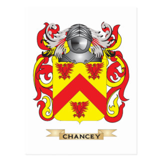 Escudo de armas de Chancey Postales