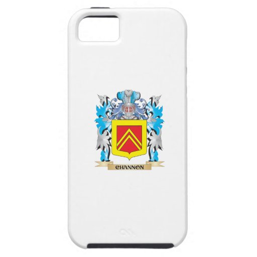 Escudo de armas de Channon- - escudo de la familia iPhone 5 Carcasas