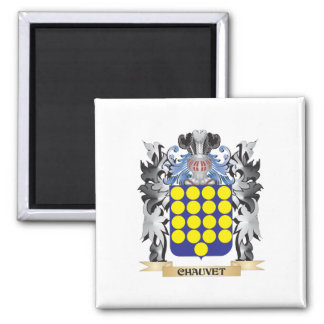 Escudo de armas de Chauvet - escudo de la familia Imán Cuadrado