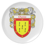 Escudo de armas de Chavez/escudo de la familia Plato
