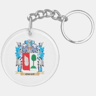 Escudo de armas de Checo - escudo de la familia Llaveros