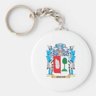 Escudo de armas de Checo - escudo de la familia Llavero Personalizado