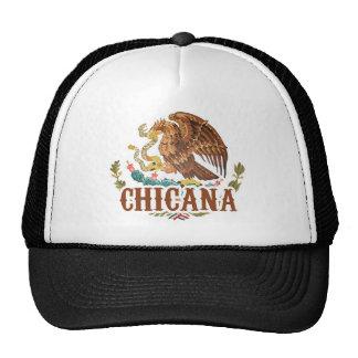 Escudo de armas de Chicana México Gorros Bordados