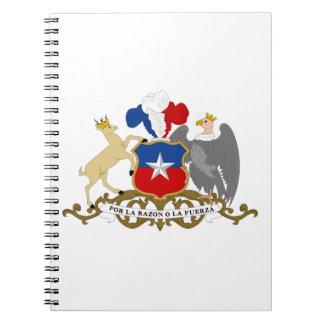 Escudo de armas de Chile Libro De Apuntes
