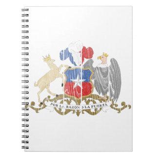 Escudo de armas de Chile Libretas Espirales