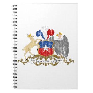 Escudo de armas de Chile Cuaderno