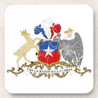 Escudo de armas de Chile Posavasos De Bebida