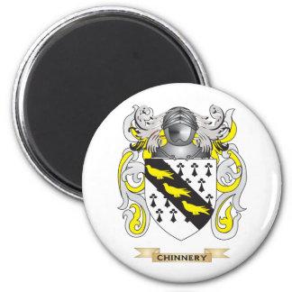 Escudo de armas de Chinnery Imán Redondo 5 Cm