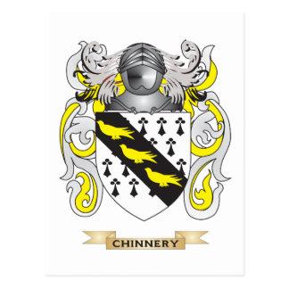 Escudo de armas de Chinnery Tarjetas Postales