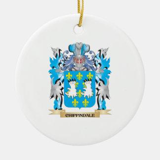 Escudo de armas de Chippindale - escudo de la Ornamentos De Reyes
