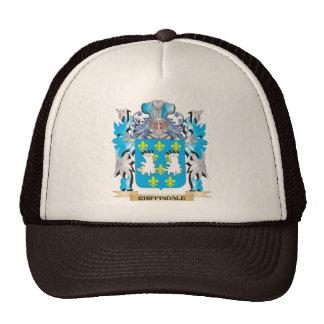 Escudo de armas de Chippindale - escudo de la fami Gorro