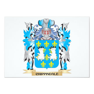 Escudo de armas de Chippindale - escudo de la Comunicado