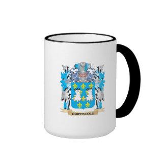 Escudo de armas de Chippindale - escudo de la Tazas