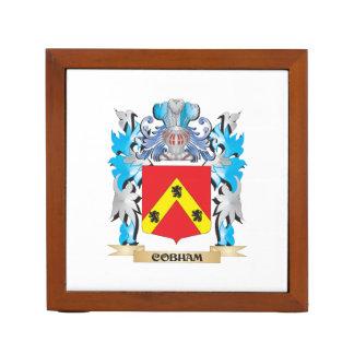 Escudo de armas de Cobham - escudo de la familia
