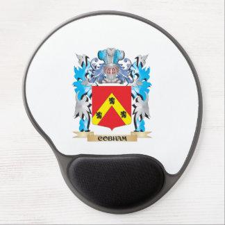 Escudo de armas de Cobham - escudo de la familia Alfombrilla De Ratón Con Gel